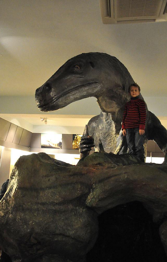 Reid in the Tromsø Museum.